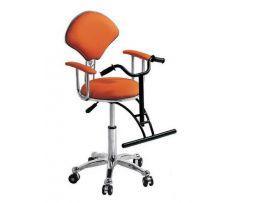 Детское парикмахерское кресло-велосипед F-08