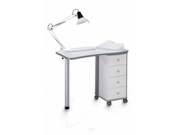204 L маникюрный стол белый