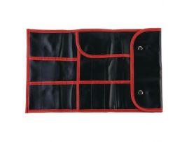 Чехол для парикмахерских инструментов DEWAL, полимерный материал, черный 37х23см