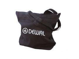 Сумка для парикмахерских инструментов DEWAL, полимерный материал, черная 43х44см