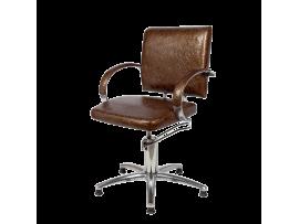Парикмахерское кресло Калибра Люкс (гидравлика)