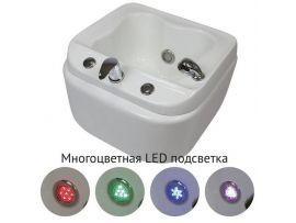 Ванна педикюрная МД-9127 с подсветкой