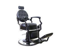 Олимп black кресло для барбершопа