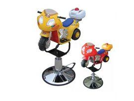 Детское парикмахерское кресло Мотоцикл