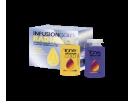 INFUSION GOLD RADIANCE AB масло для осветленных волос с нейтрализацией желтизны 2 x 10 мл
