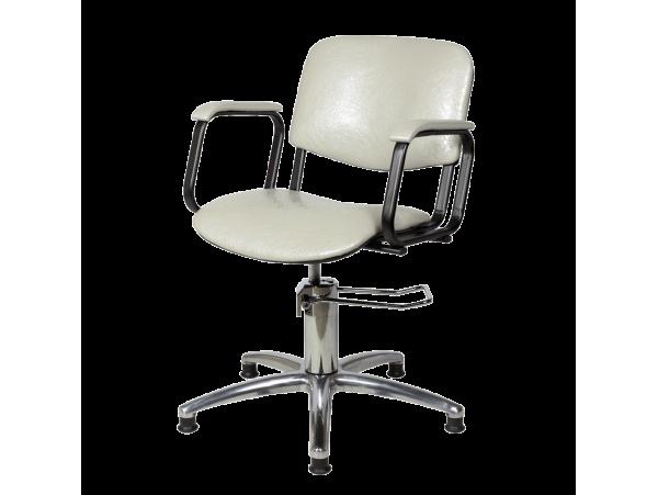 Парикмахерское кресло Контакт (гидравлика, хром)