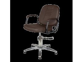 Парикмахерское кресло Бриз (гидравлика, хром)